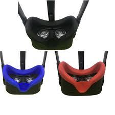 Silikonowa osłona na okulary VR Oculus Quest - czarna