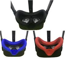 Silikonowa osłona na okulary VR Oculus Quest - niebieska